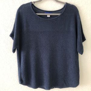 Simply Styled blue knit sweater XL New